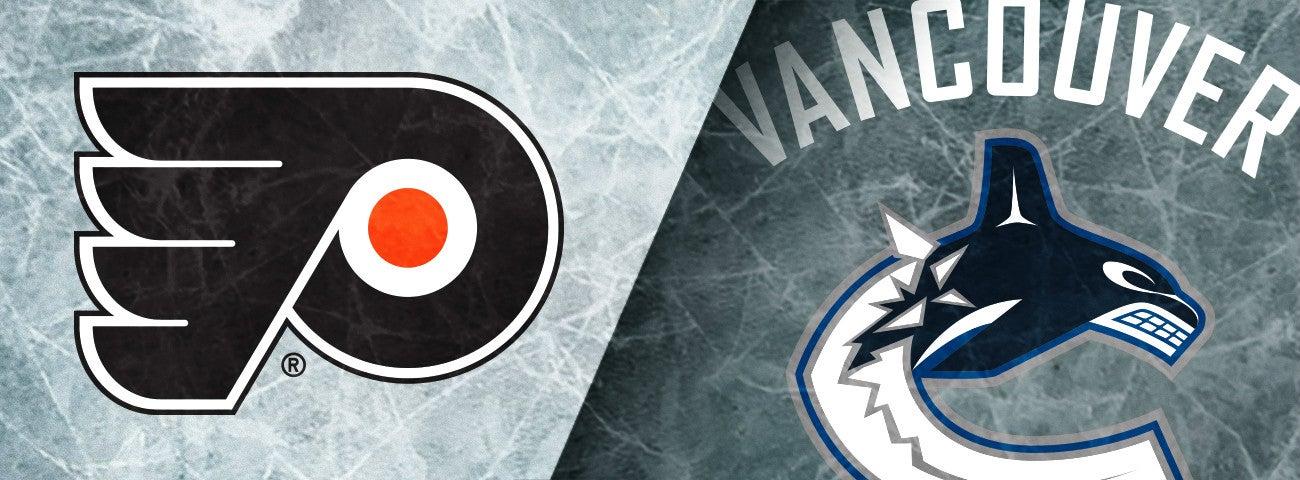 Flyers vs. Vancouver Canucks
