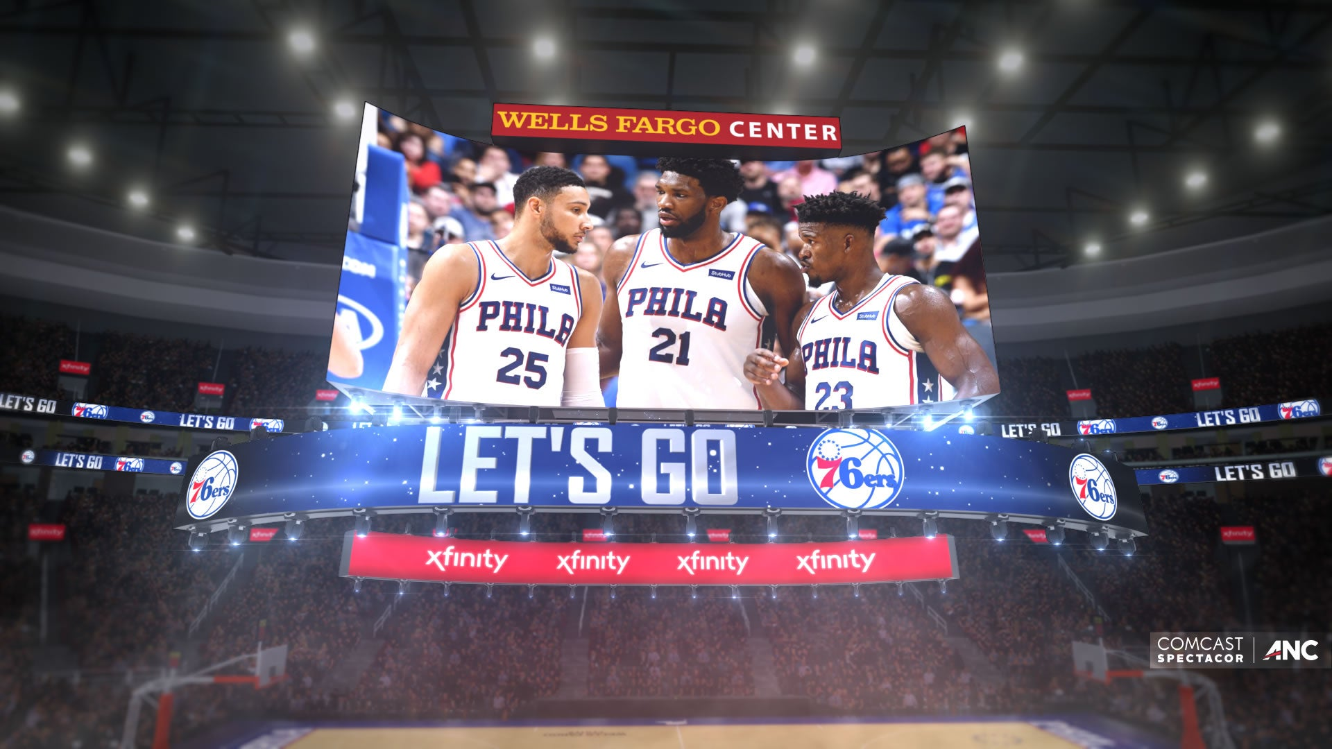 Wells Fargo Center to Introduce the World's First Kinetic 4K