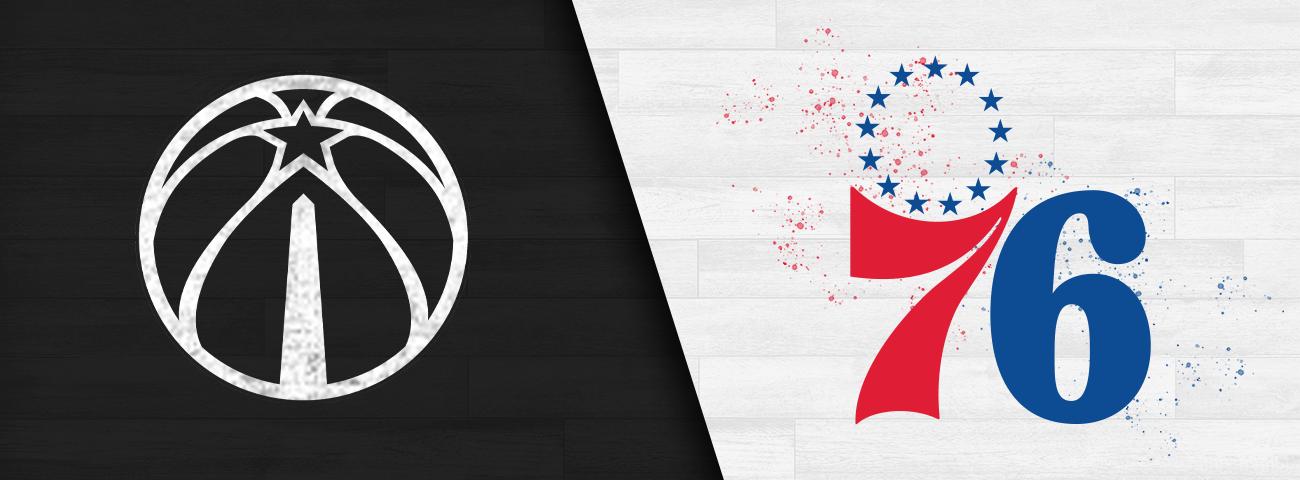 Wizards vs. 76ers