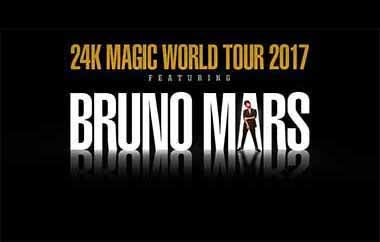 More Info for Bruno Mars 24K Magic World Tour 2017