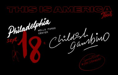 More Info for Childish Gambino This Is America Tour
