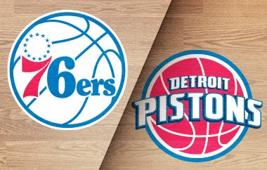 More Info for Sixers vs. Pistons (Preseason)