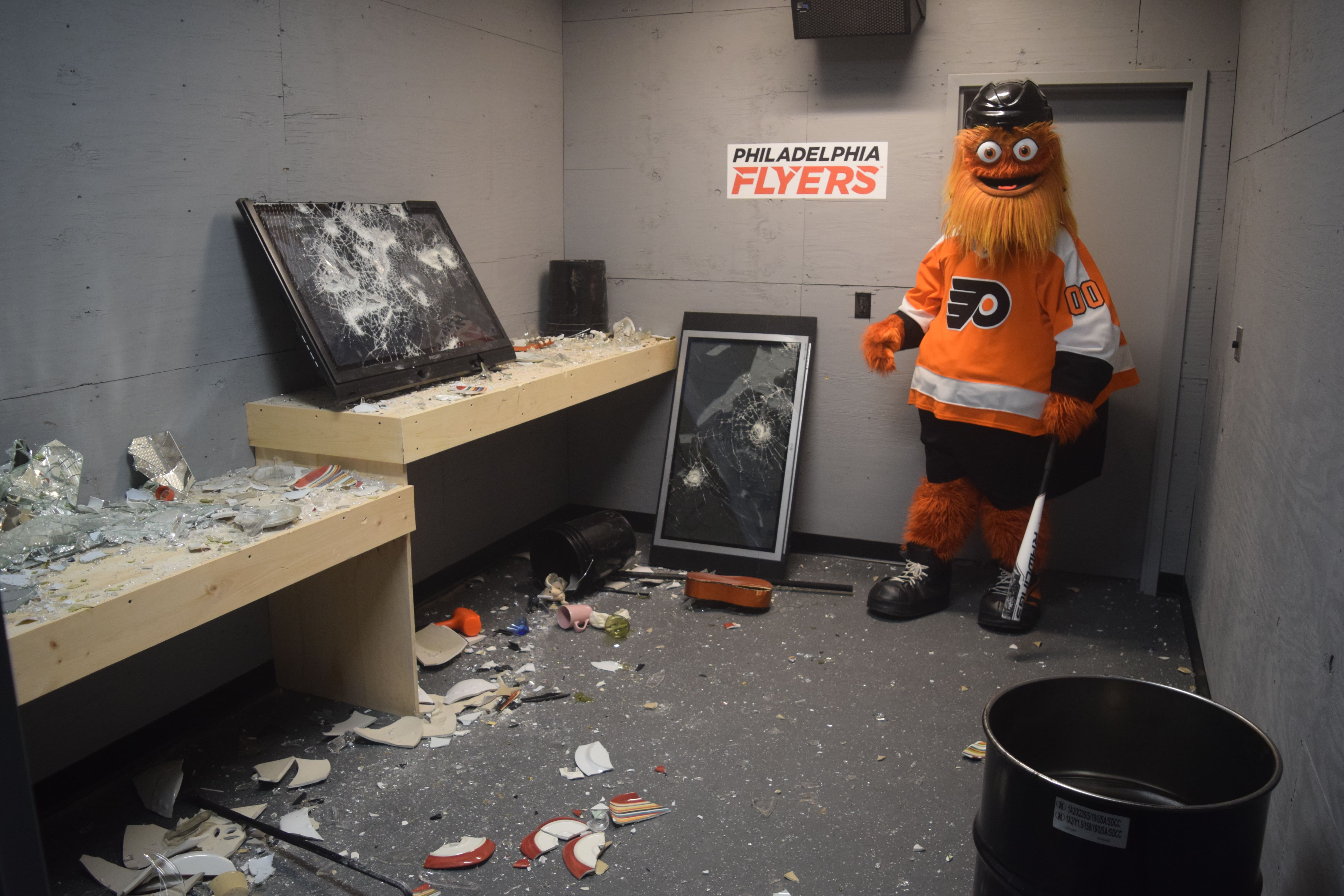 Wells Fargo Center Unveils Latest Fan Experience: The Disassembly Room