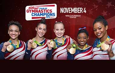 More Info for Kellogg's Tour Of Gymnastics Champions
