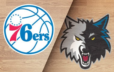 More Info for 76ers vs Timberwolves