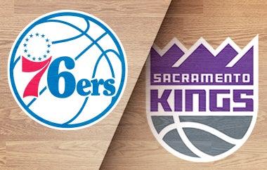 More Info for 76ers vs Kings